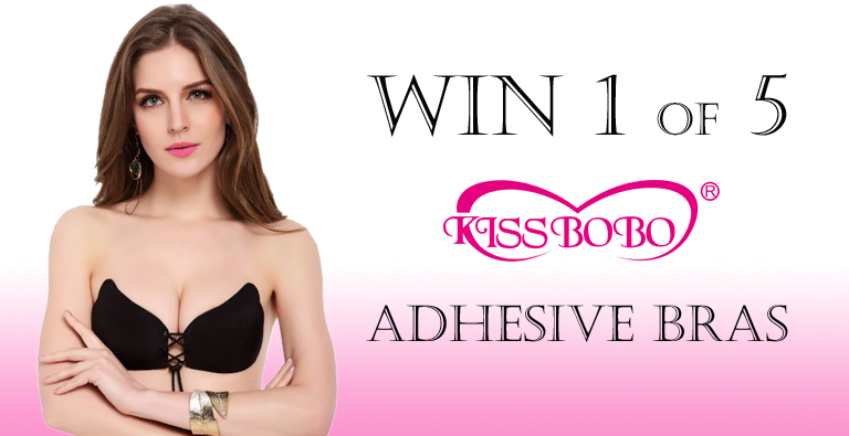Giveaway! Win 1 of 5 Adhesive Bras by KISSBOBO